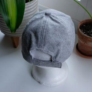 Accessories - Gray Adjustable Hat with no Logos